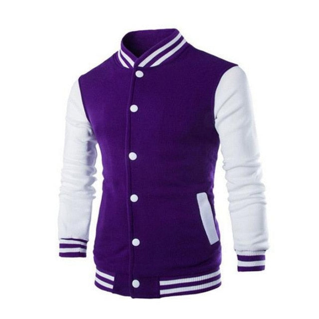 Baseball Jacket Men Fashion