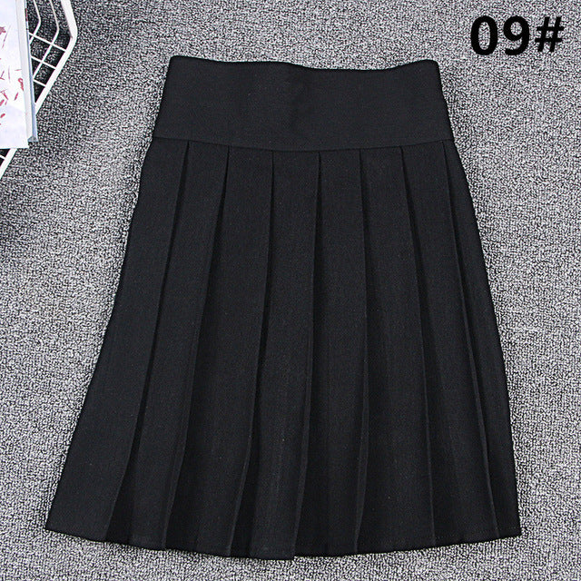 School Skirt Cosplay Anime Pleated Skirt Uniforms Sailor Suit