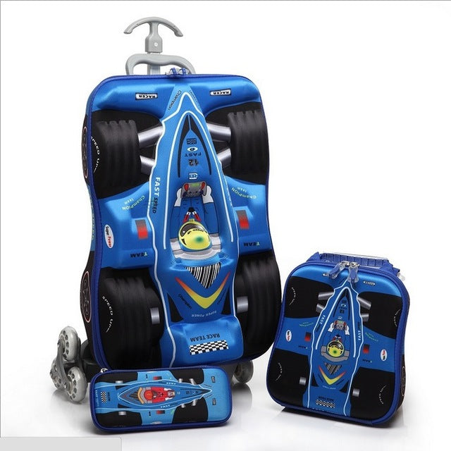Kids Travel Luggage Pull rod suitcase