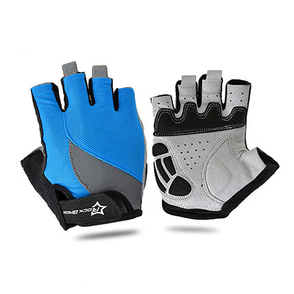 Cycling Anti slip Half Finger Gloves Breathable