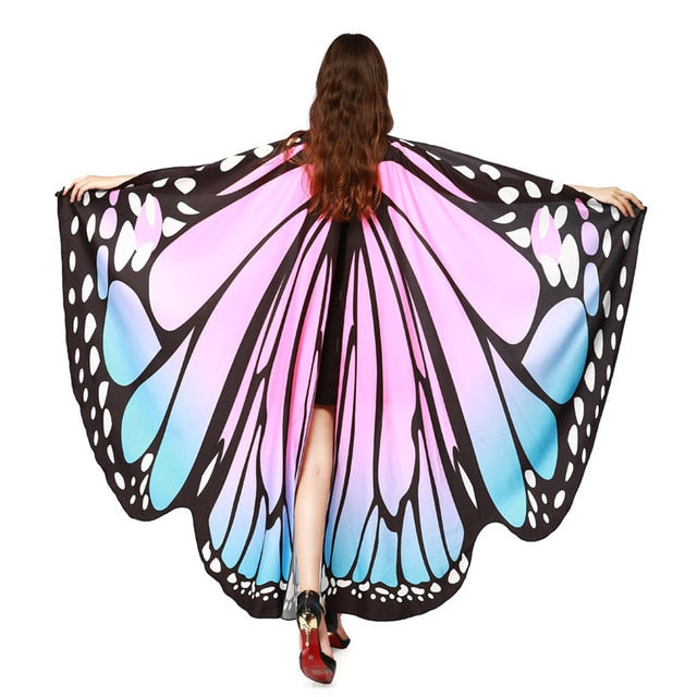Women Butterfly Wings Costume Accessory