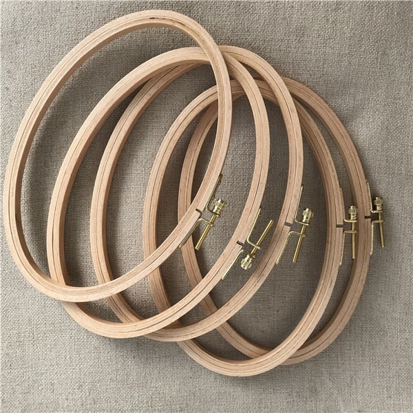 Oval Embroidery Hoops 21*13 cm