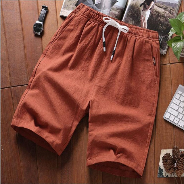 Casual Shorts Men's Cotton