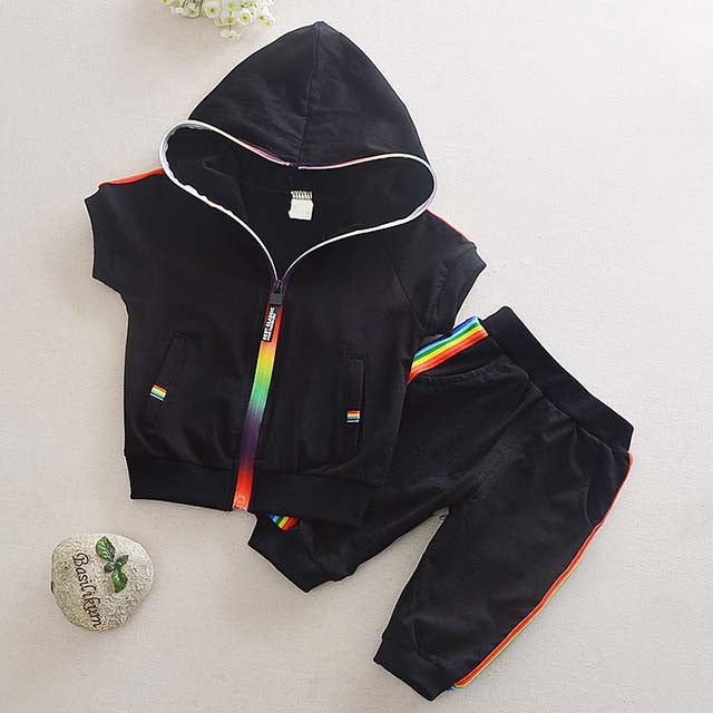 Rainbow Baby Boys Clothes Set 2pcs Outfit
