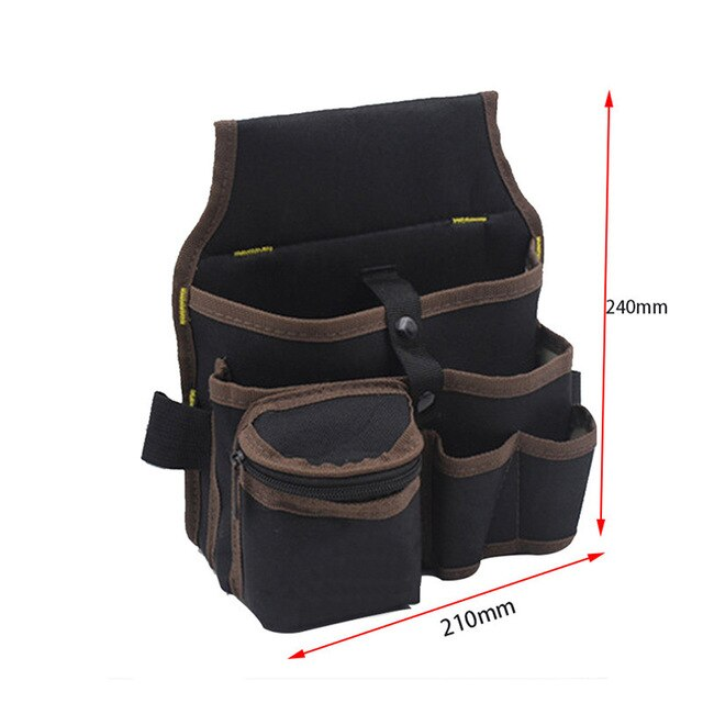 Hardware Mechanics Canvas Tool Bag Utility Pocket Pouch