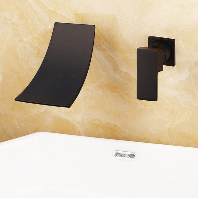 Wall Mounted Bathtub Tap Waterfall