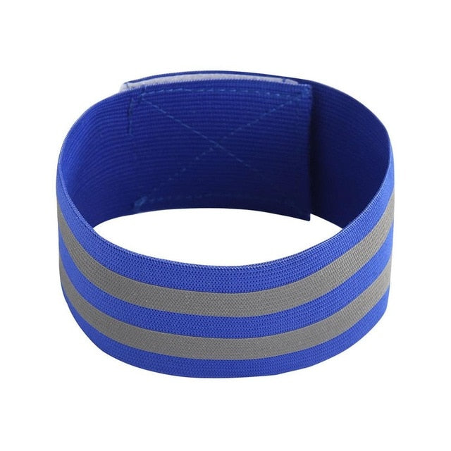 Reflective Bands Elasticated Armband Wristband Ankle Leg Straps Safety Reflector Tape Straps for Night Jogging Walking Biking|Reflective Material