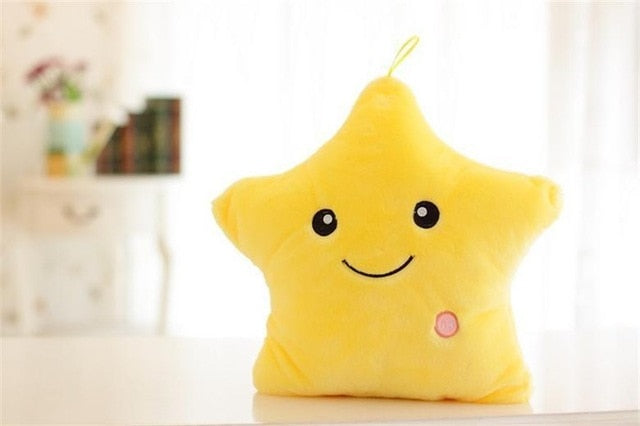 Luminous Pillow Stars Stuffed