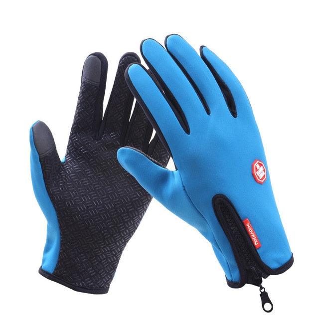 Waterproof Winter Warm Gloves Men Ski Gloves Snowboard Gloves Motorcycle Riding Winter Touch Screen Snow Windstopper Glove|Skiing Gloves