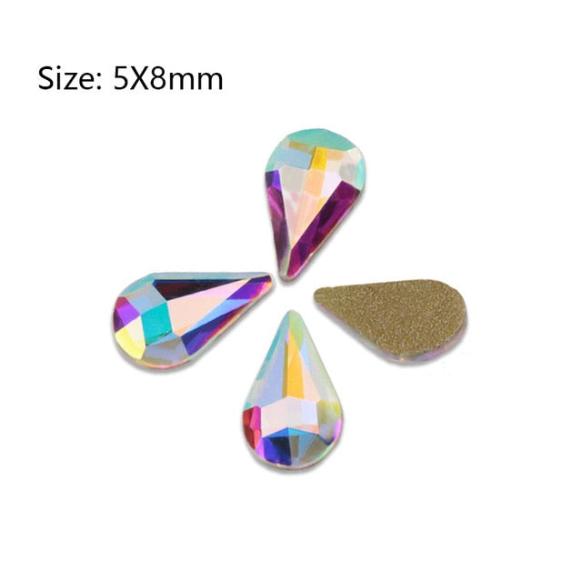 Fancy Nail Art Rhinestones DIY Nails Art