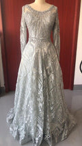 Elegant Lace Formal Evening Party Gown