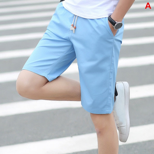 2020 Summer Men's shorts Casual Loose Cropped Trousers Sports Shorts Loose Knit Straight Casual Pants Cotton Short Pants New 4XL|Casual Shorts