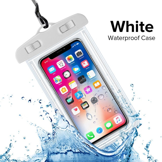 Waterproof Phone Case Water proof Bag Mobile Phone Pouch PV Cover iPhone 11 Pro Xs Max XR X 8 7 Samsung S10