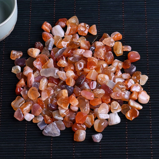 50g natural crystal mini rocks