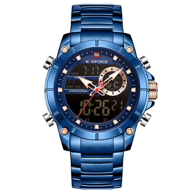 Luxury Fashion Military Quartz Mens Watches Waterproof