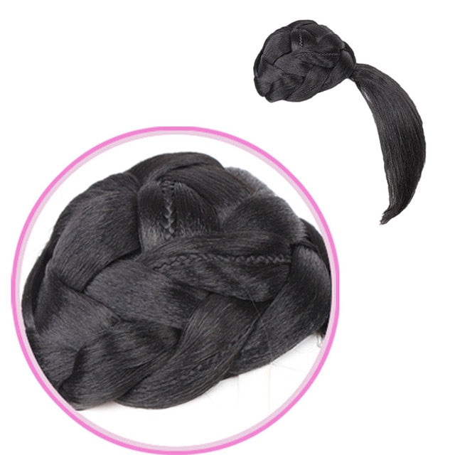Fake Hair bangs Extension Clip in