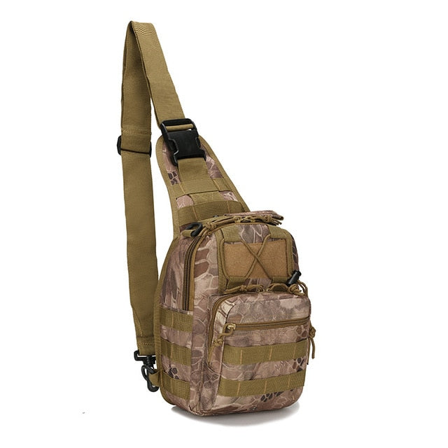 Hiking Trekking Backpack Sports Climbing Shoulder Bags Tactical Camping Hunting Daypack Fishing Outdoor Military Shoulder Bag|Climbing Bags