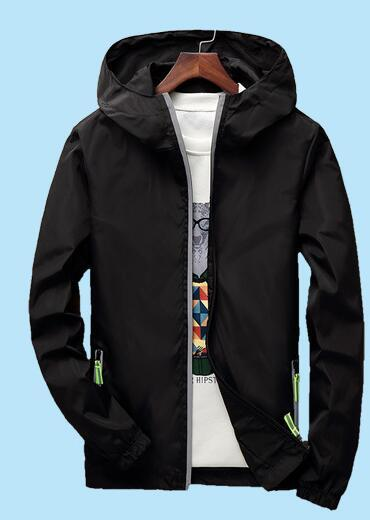 Reflective Jacket Windbreaker Men Jaqueta Masculina College Jackets