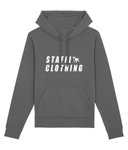 Staffi Clothing Hoody White Staffi Clothing Logo