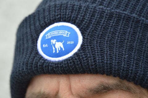 A Breed Above Blue Badge Beanie Hat