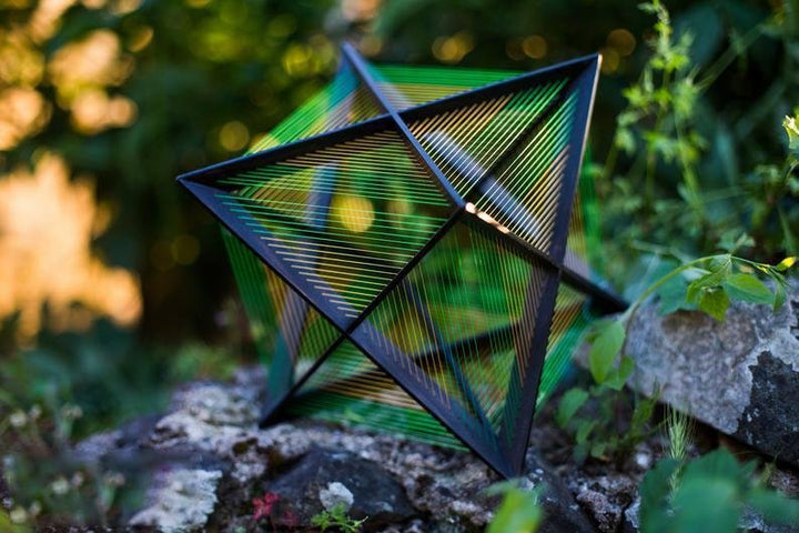 108 knots Merkaba Stellated Octahedron - Trancentral Shop