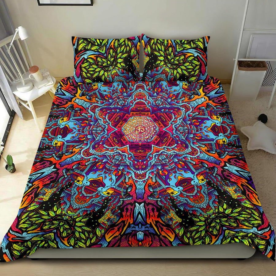 A.V hanuman mandala bedding set - Trancentral Shop