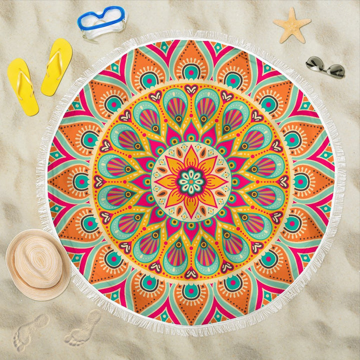 Beach Towel 1 Beach Blankets - Trancentral Shop