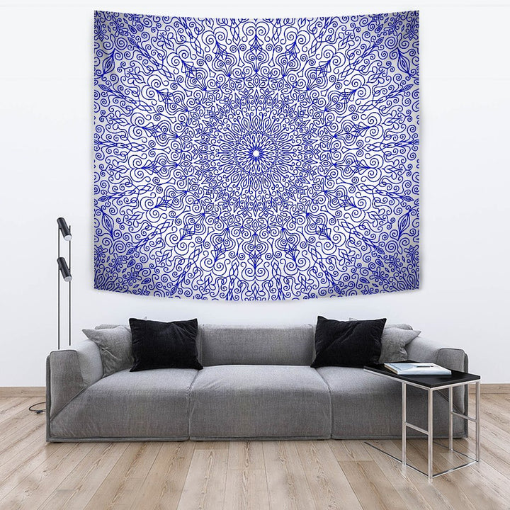 Blue Royalty Tapestry - Trancentral Shop