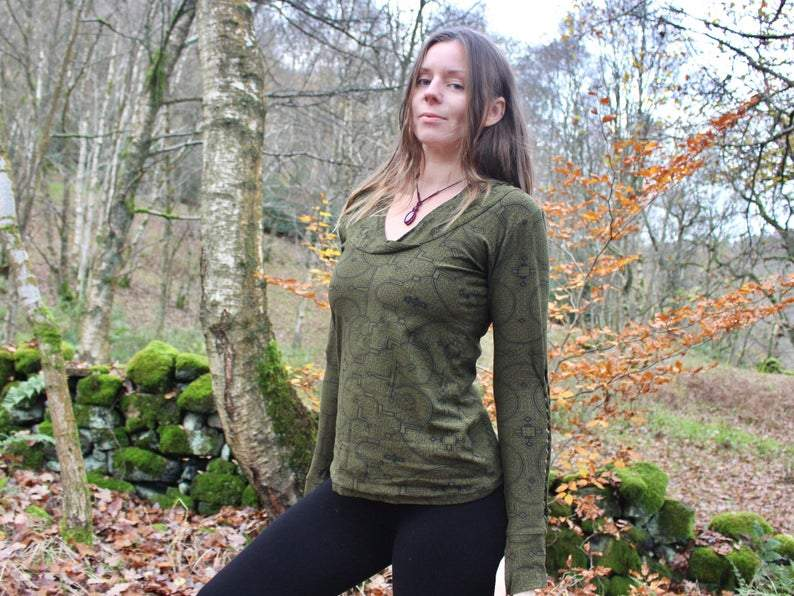 Braided Cotton Yoga Hoodie - Trancentral Shop