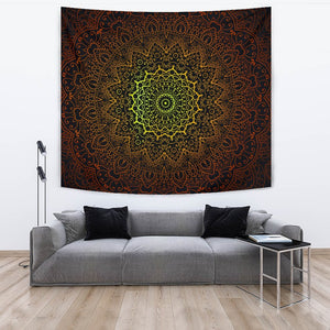 Celtic Flower Radiance Tapestry - Trancentral Shop