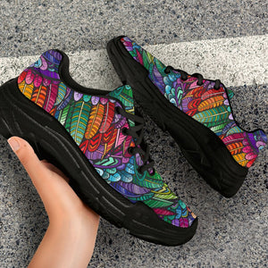 Chunky Colorful Sneakers - Trancentral Shop