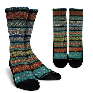 Fantastic Oriental Dream Crew Socks - Trancentral Shop