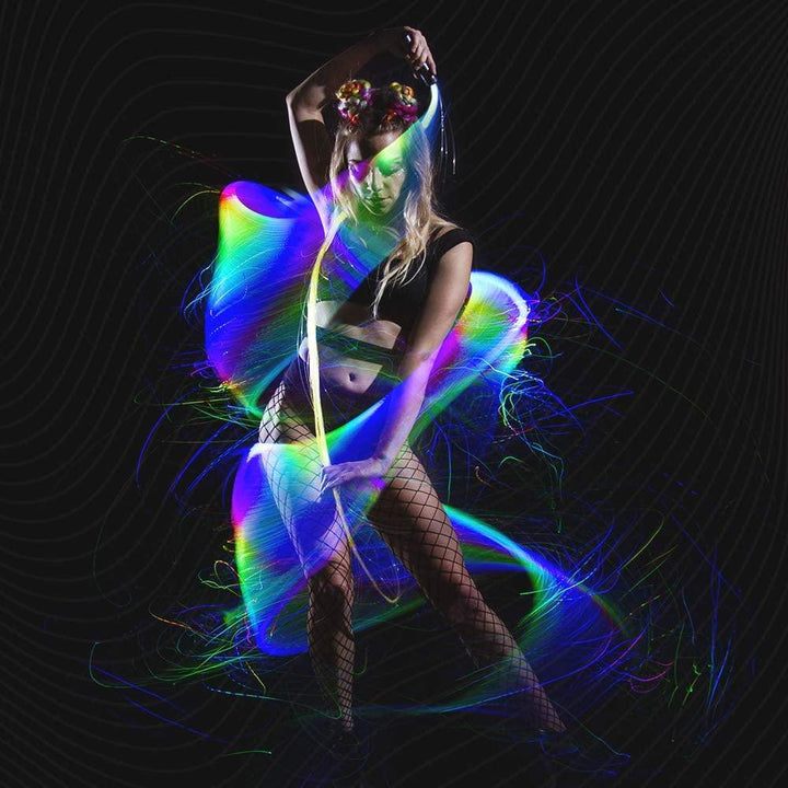 Festival LED Fiber Optic Whip - Trancentral Shop