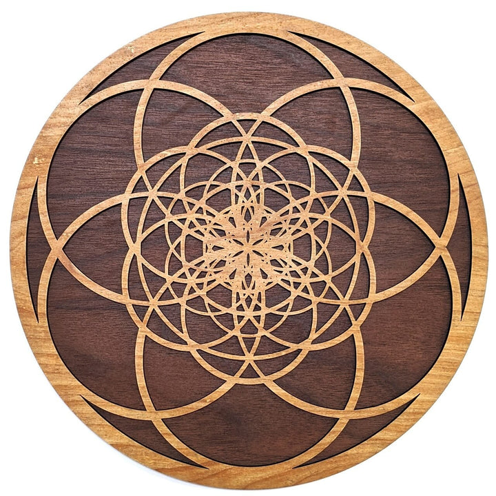 Fibonacci Seed of Life Wall Art - Trancentral Shop