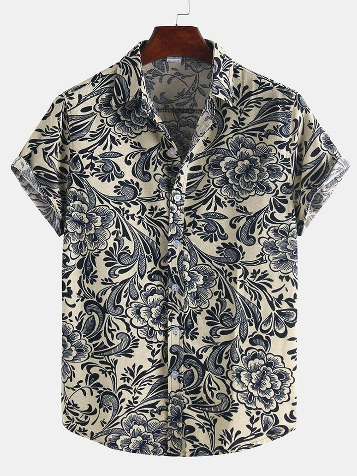 Floral Shirt - Trancentral Shop