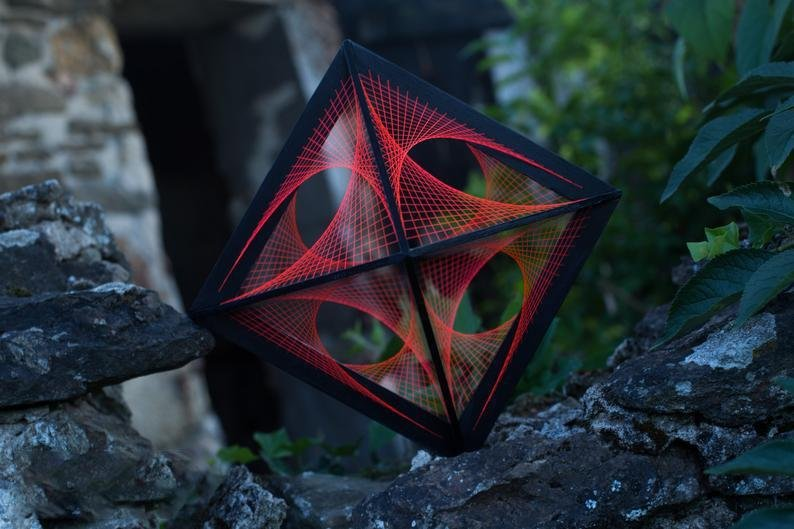 Flower of Life Octahedron - Trancentral Shop