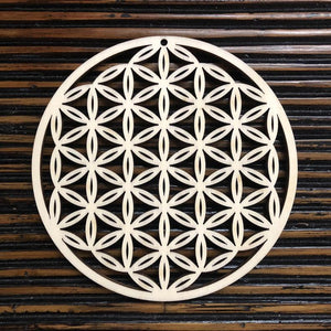 Flower of Life Wooden Wall Art - Trancentral Shop