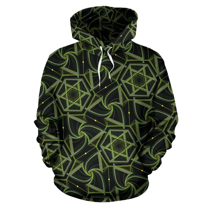 Green Geo Pattern - Trancentral Shop