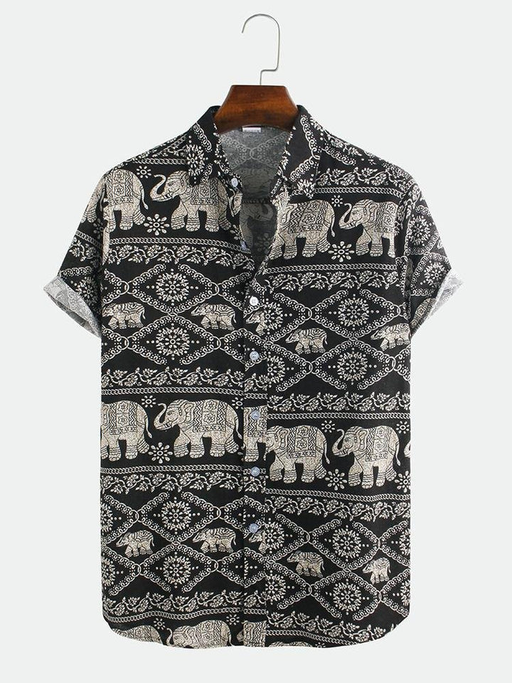 Indian style shirt - Trancentral Shop