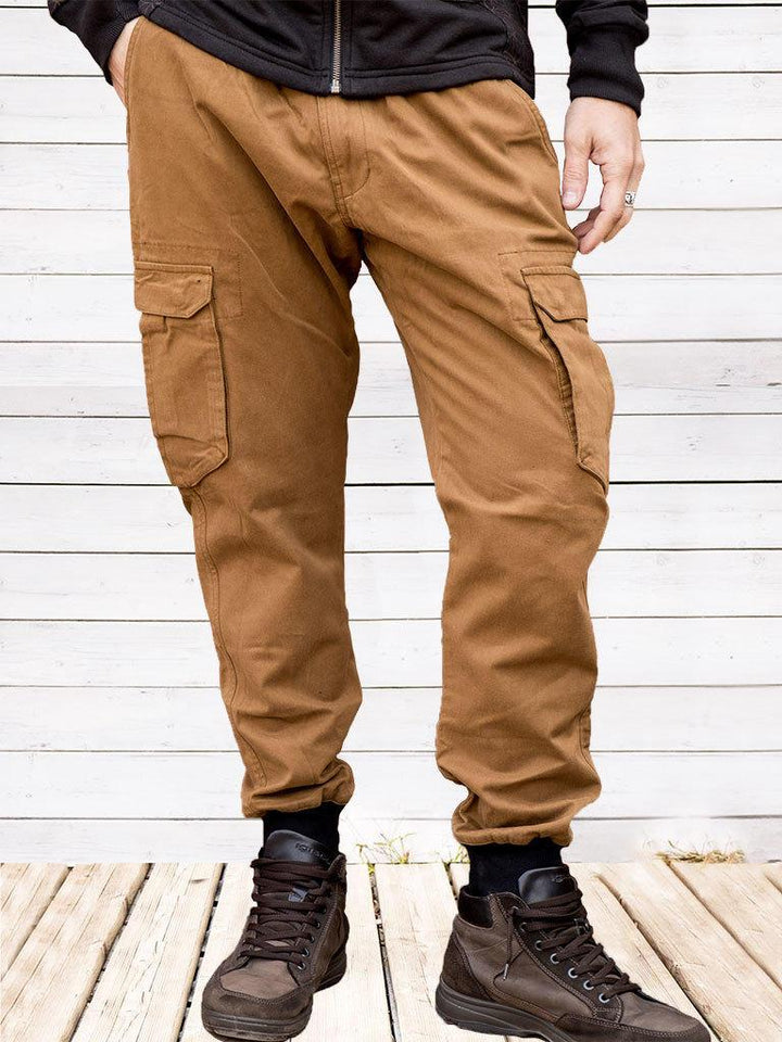 Jayant long jeans trousers - mustard - Trancentral Shop