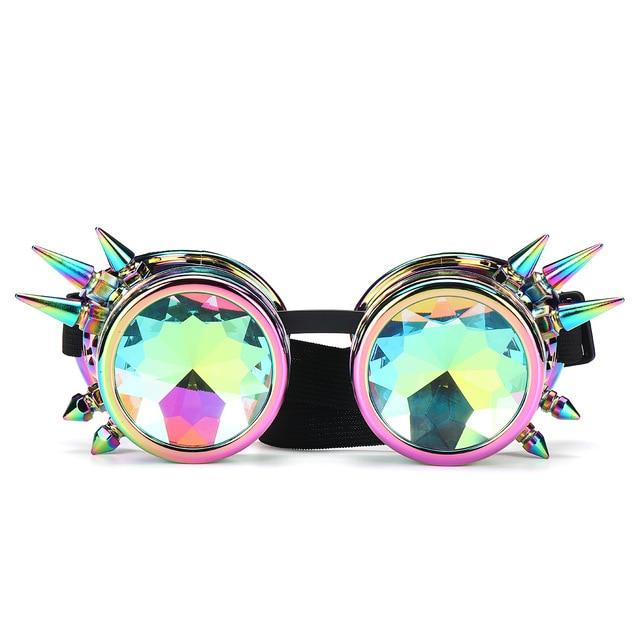Kaleidoscope Colorful Glasses - Trancentral Shop