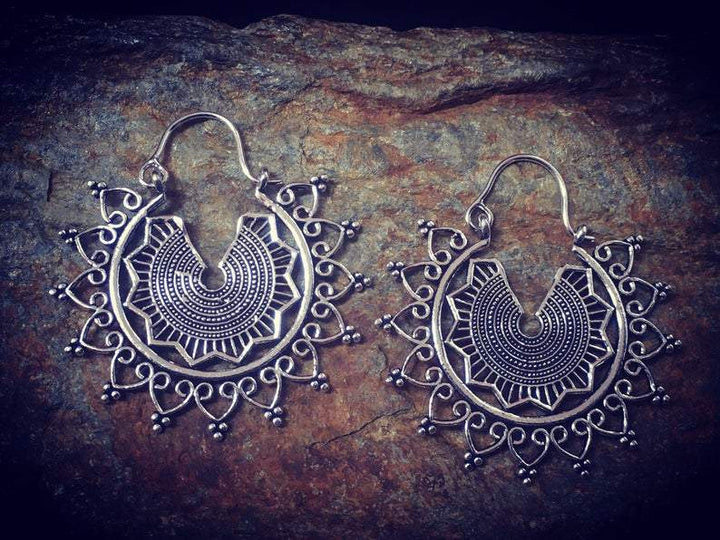 Mandala Earrings - Trancentral Shop