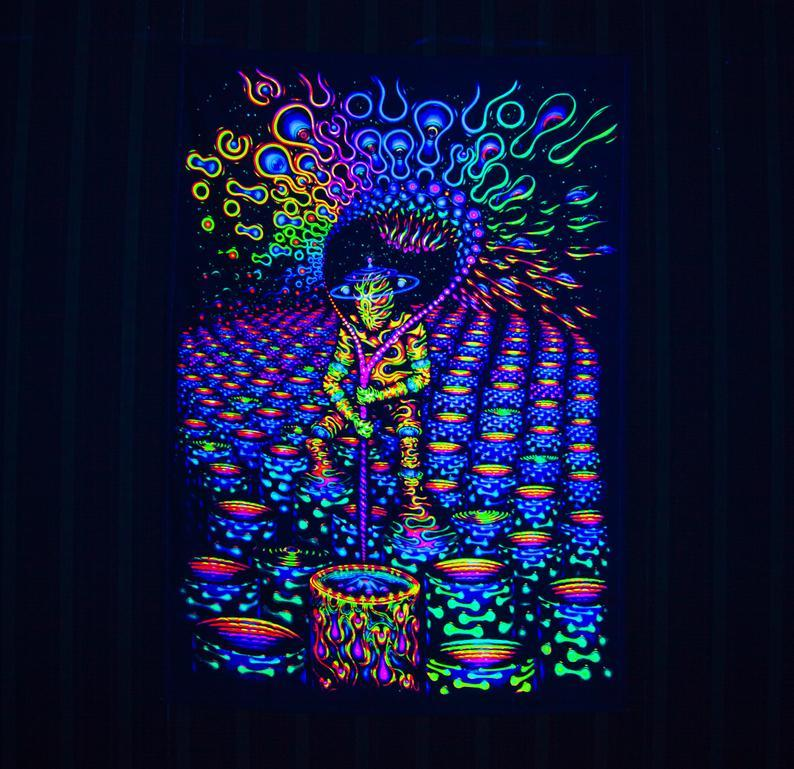 Manifestor BLACKLIGHT TAPESTRY - Trancentral Shop