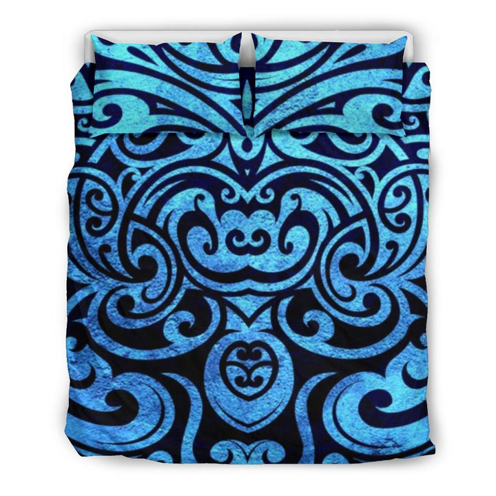 Maori Blue Butterfly Bedding Set - Trancentral Shop