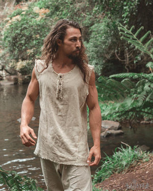 Mens Handmade Tank Top - Trancentral Shop