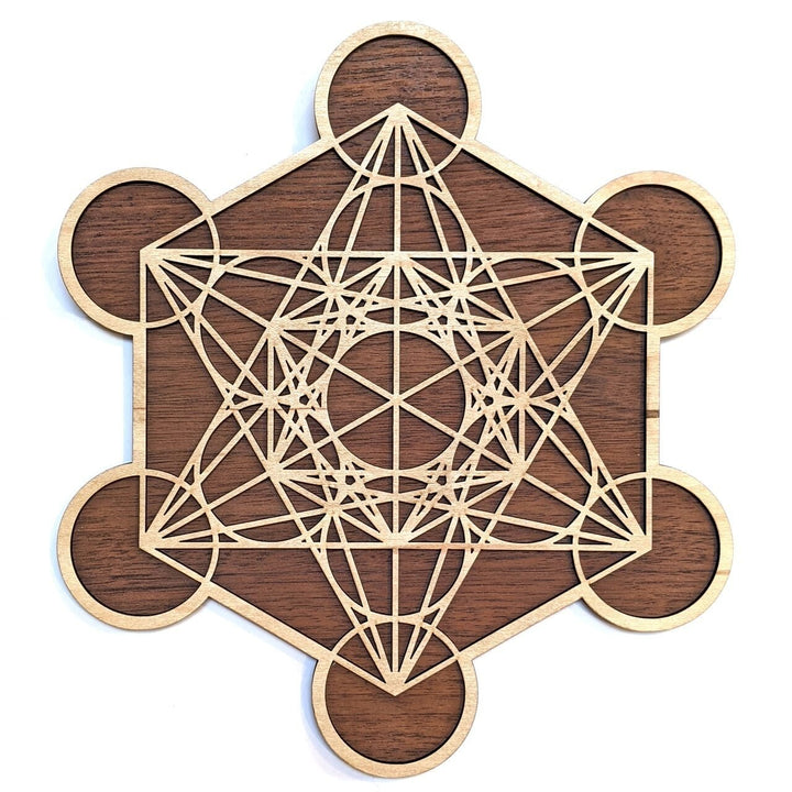 Metatrons Cube Wall Art - Trancentral Shop