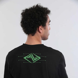 POLARITY – UV reactive / Glow in the dark t-shirt - Trancentral Shop