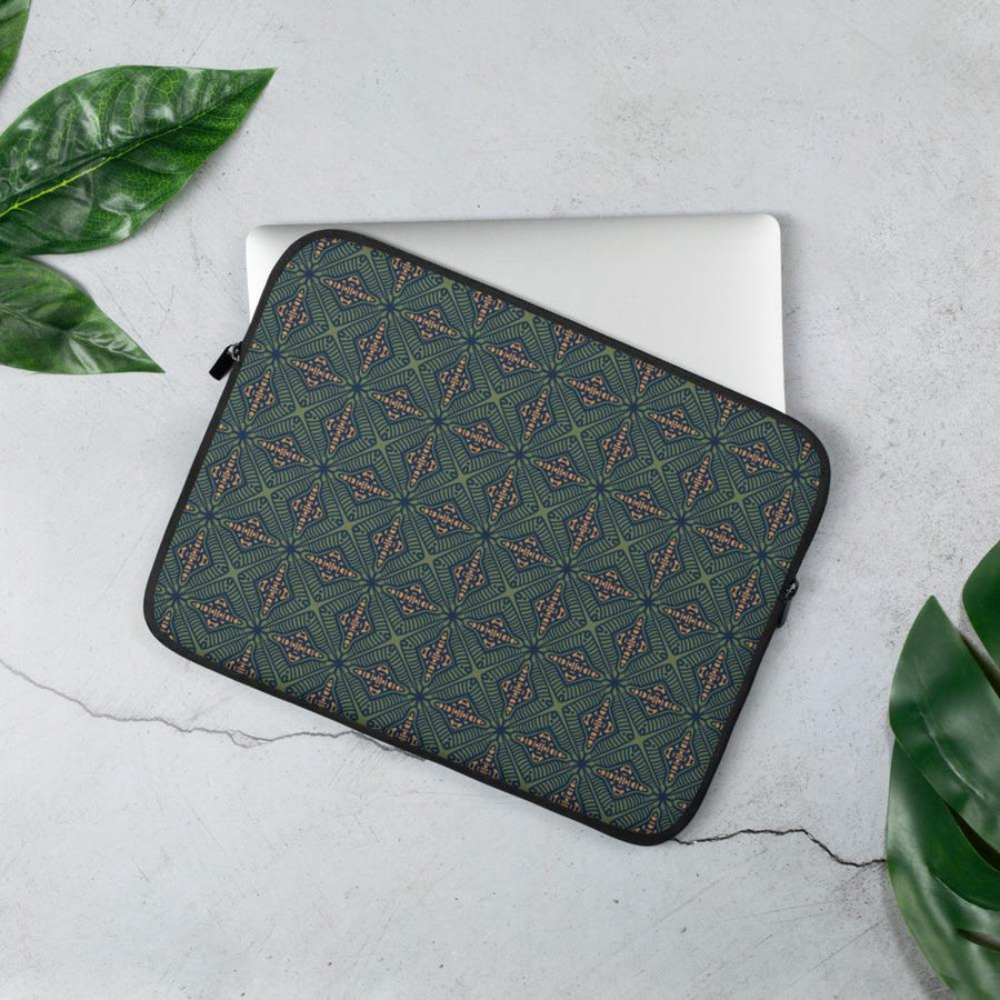 Psy Green Laptop Sleeve - Trancentral Shop