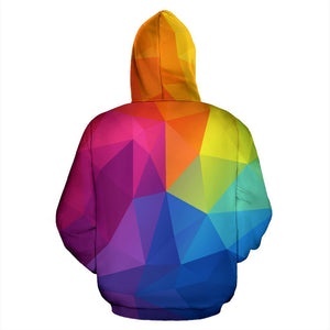 Psychedelic Zip-Up Hoodie - Trancentral Shop