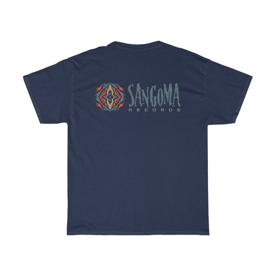 Sangoma manadala Cotton Tee - Trancentral Shop